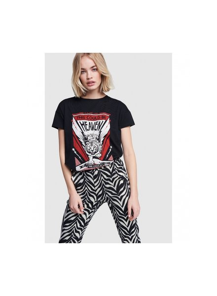 ALIX The Label Alix the label ladies knitted tiger t-shirt