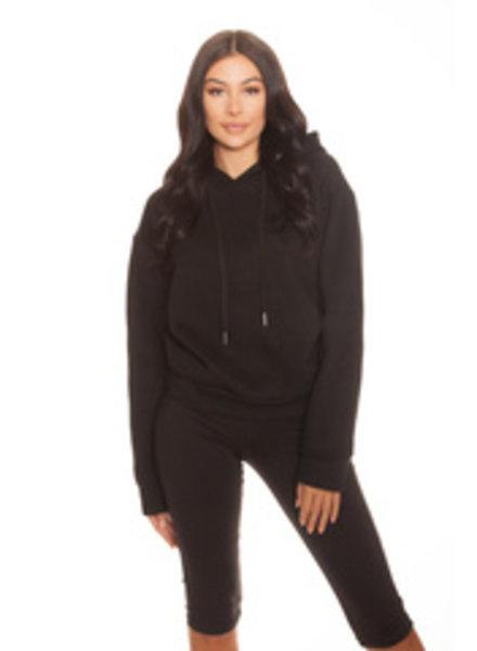 La Sisters LA Sisters oversized hoodie