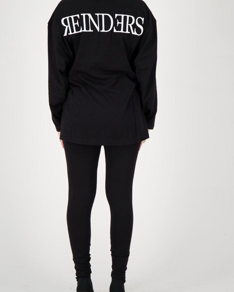 REINDERS Reinders headlogo square t-shirt long W2332