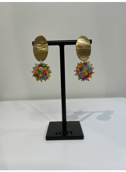 LOTT. GIOIELLI Lott Glassberry Globe Double Stones