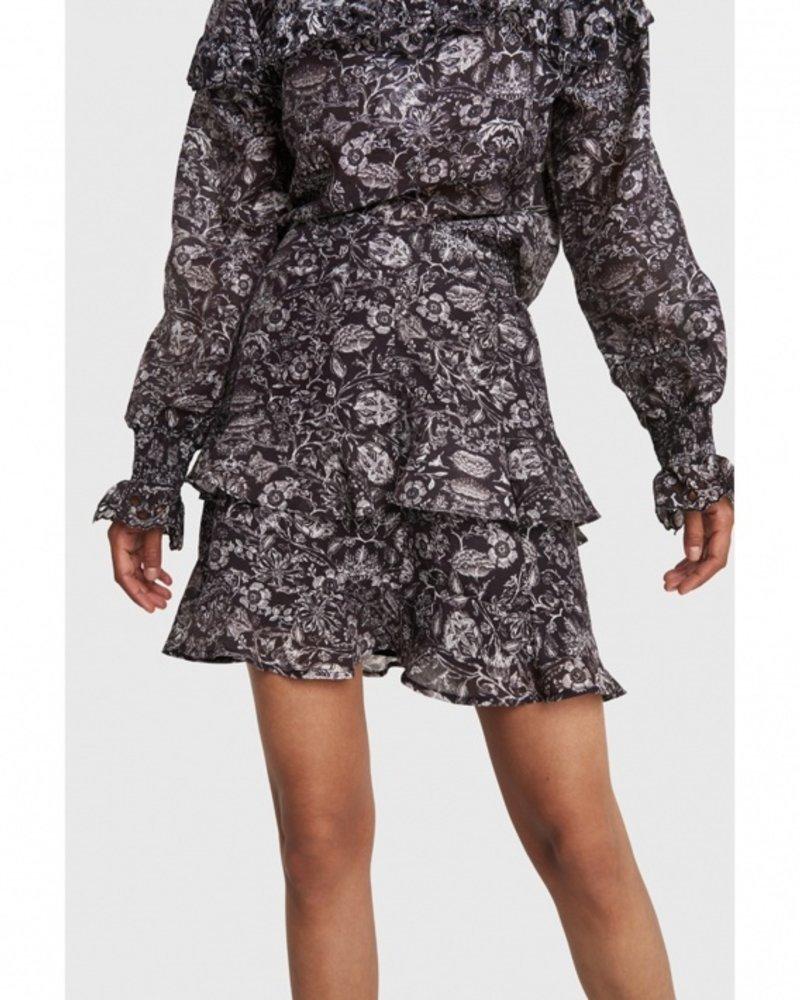 ALIX The Label Alix flower linen skirt 2102271871