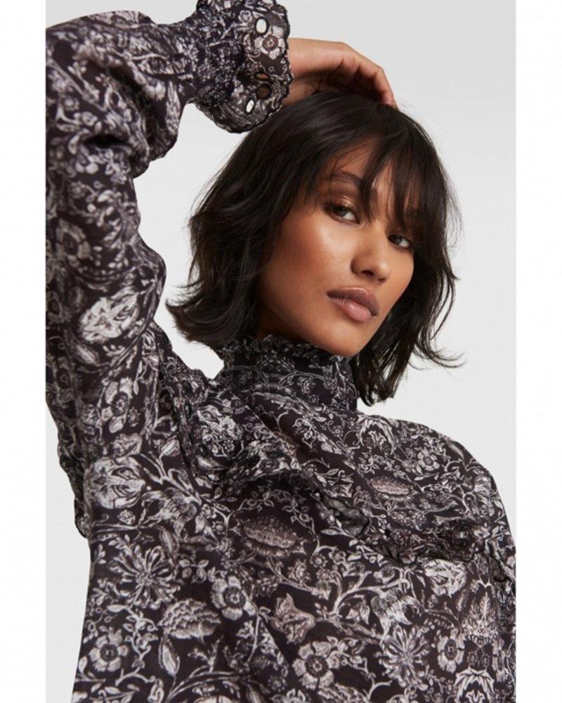 ALIX The Label Alix flower linen blouse 2102971873