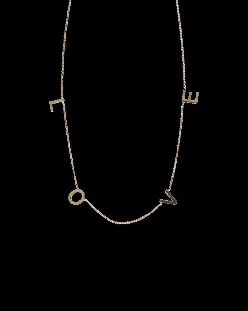 LOTT. GIOIELLI Lott  symbol necklace dourmet love