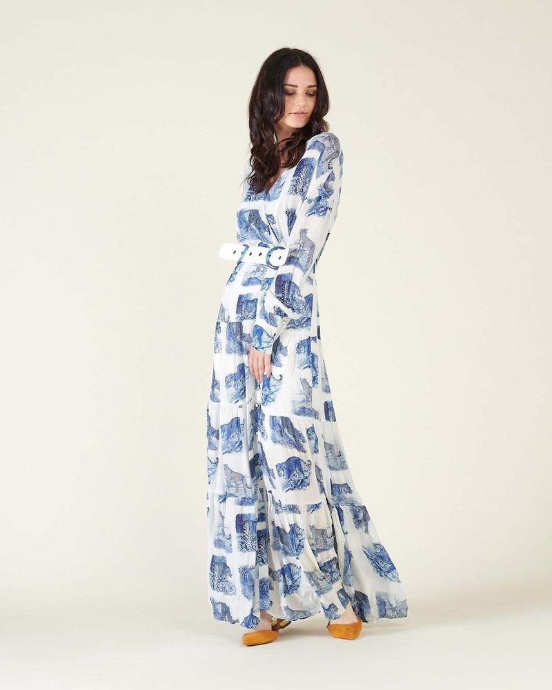 Silvian Heach Silvian Heach long dress peakes