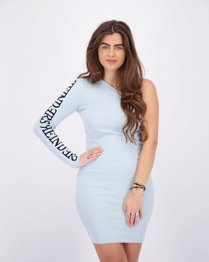 REINDERS Reinders Laila one shoulder dress W2308