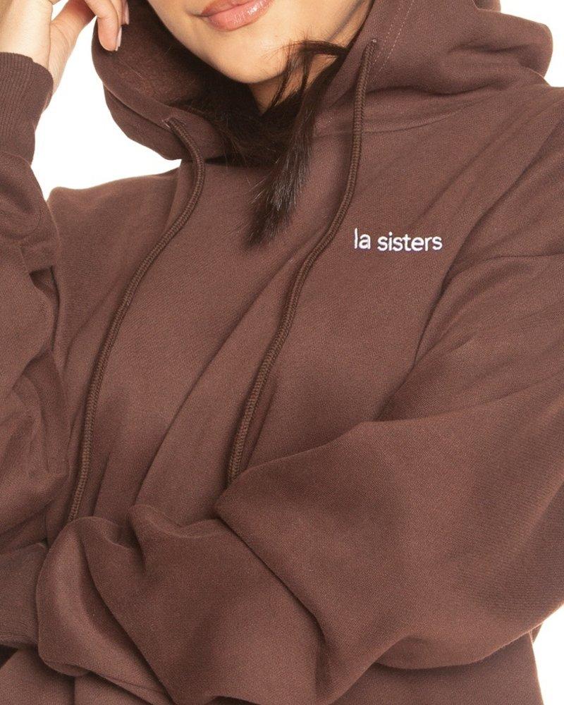 La Sisters La sisters essential hoodie