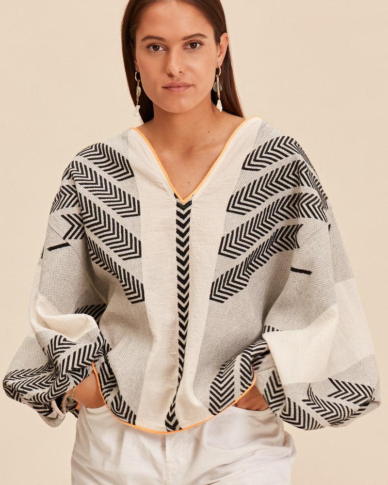 Devotion De option blouse with zakar 021005G