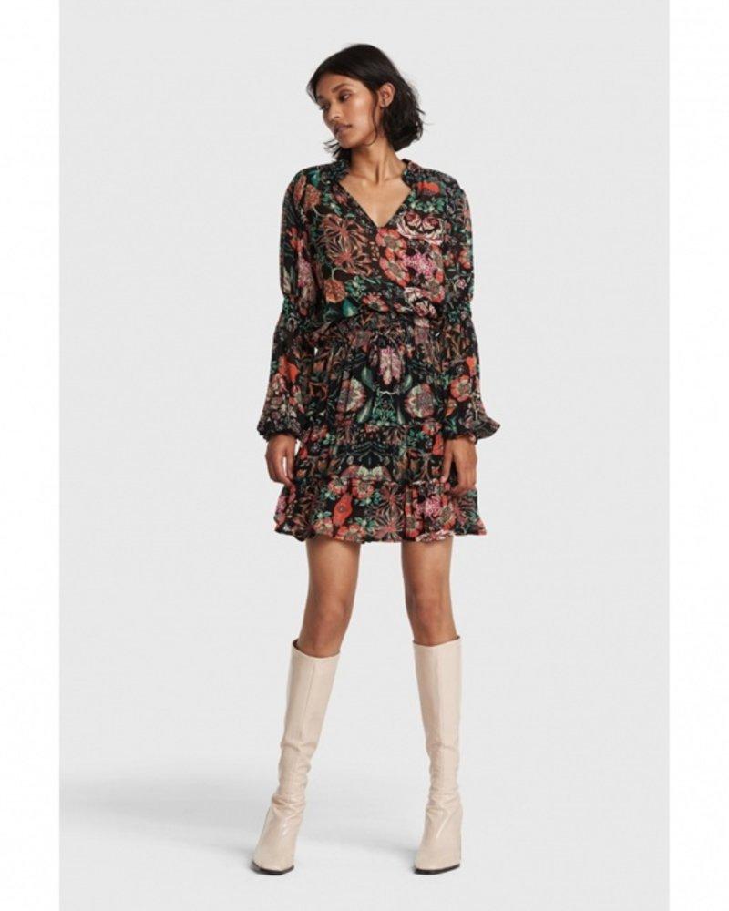 Alix multi colour chiffon skirt 2103275880
