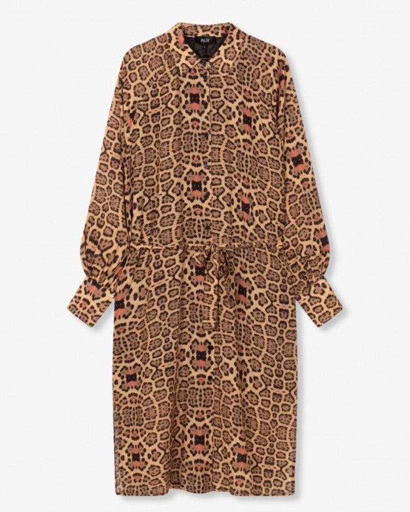 ALIX The Label Alix jacquar oversized blouse dress 2103335881
