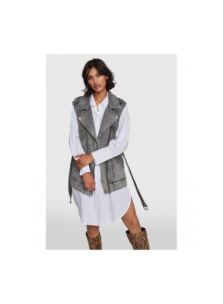 ALIX The Label Alix denim oversized waistcoat 2103432861