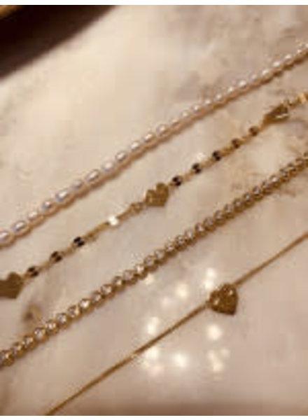 LOTT. GIOIELLI Lott bracelet framed zirconias