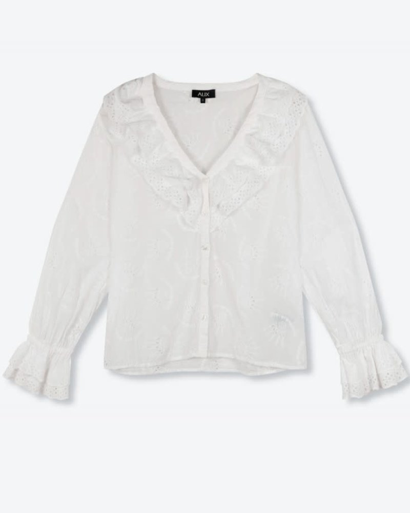 ALIX The Label Alix broderie blouse  2104976054