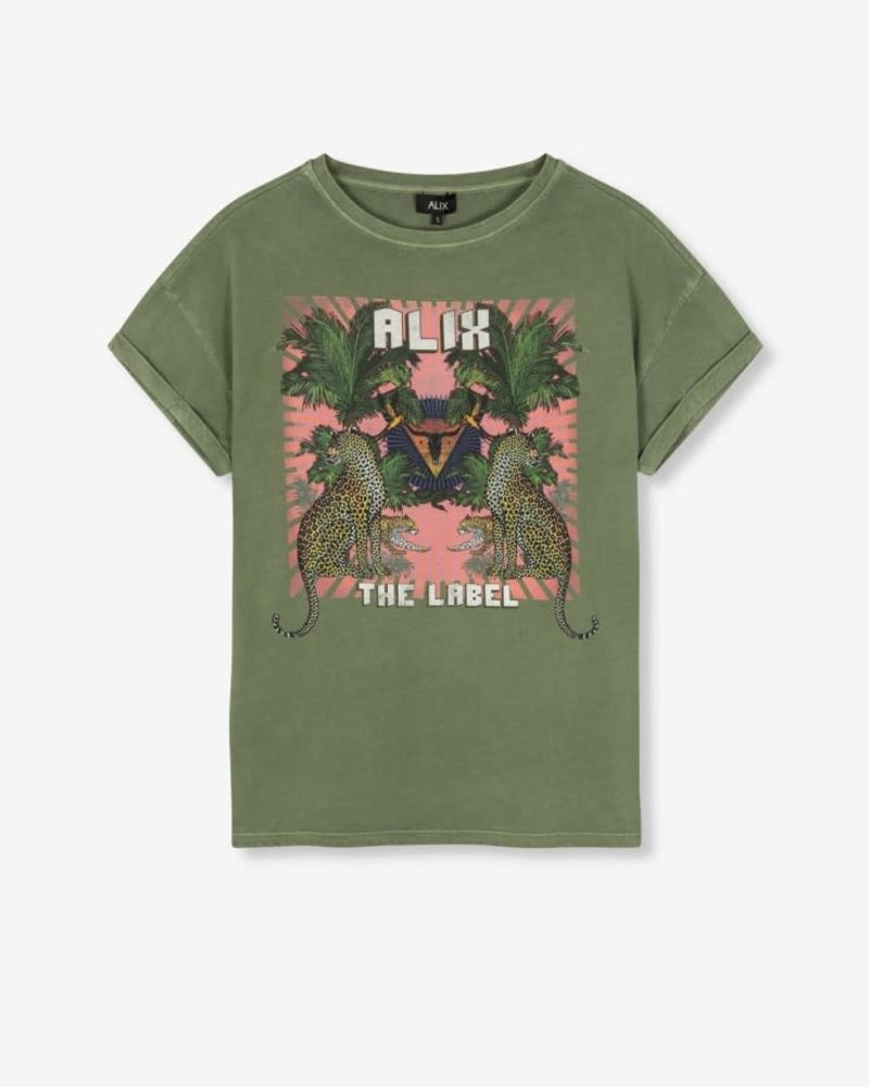 ALIX The Label Alix acid washed  t-shirt  2104892148