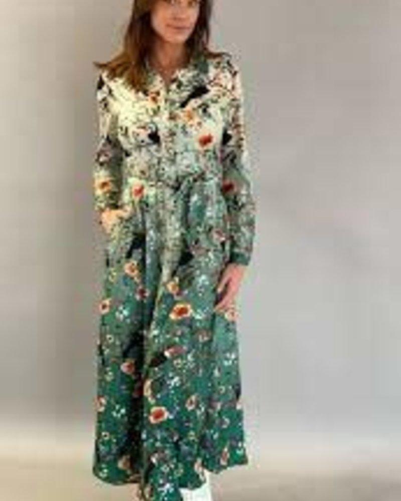 Est'Toekan big maxi dress