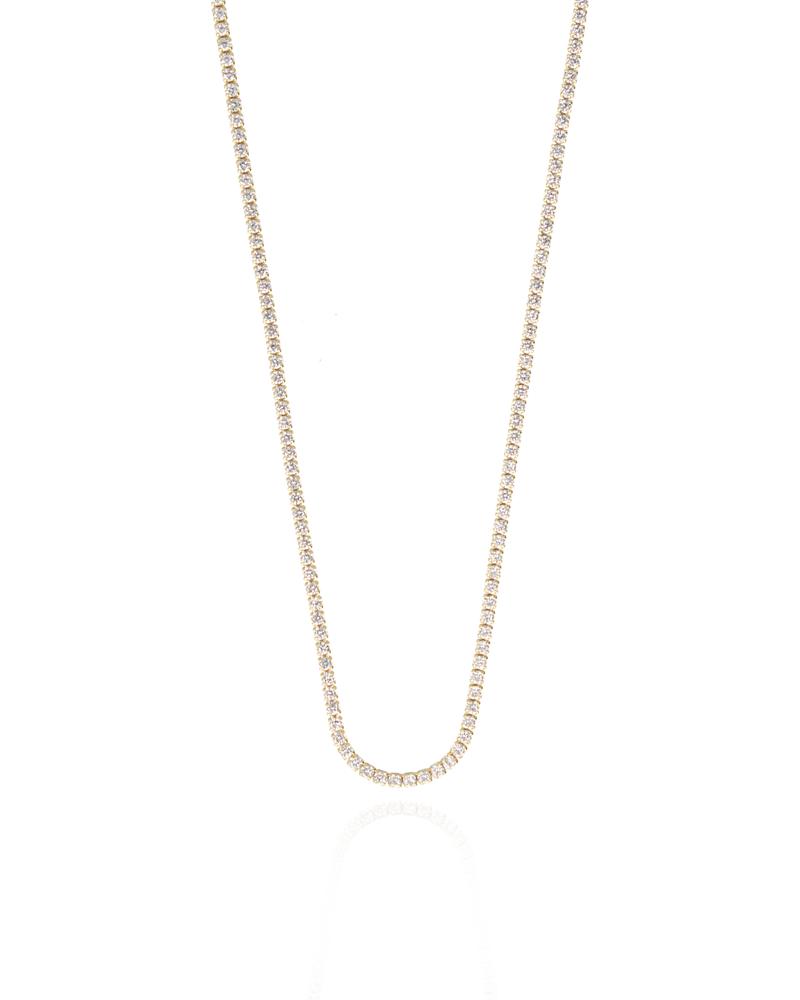 Lott necklace with star zirconias