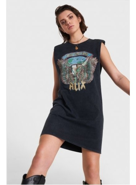 ALIX The Label Alix knitted sleeveless long T-shirt 2105892164