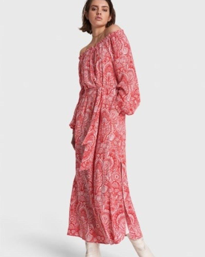 ALIX The Label Alix ladies refined line off shoulder maxi dress 2105313168