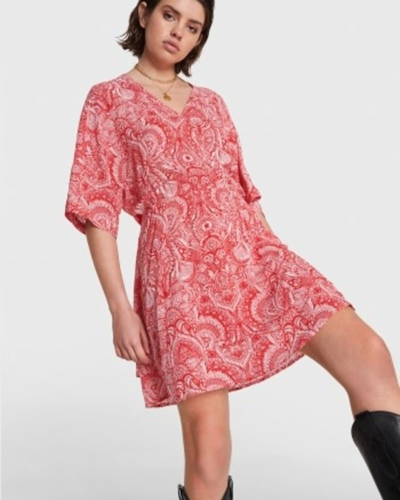 ALIX The Label Alix refined line fake wrap dress 2105313171