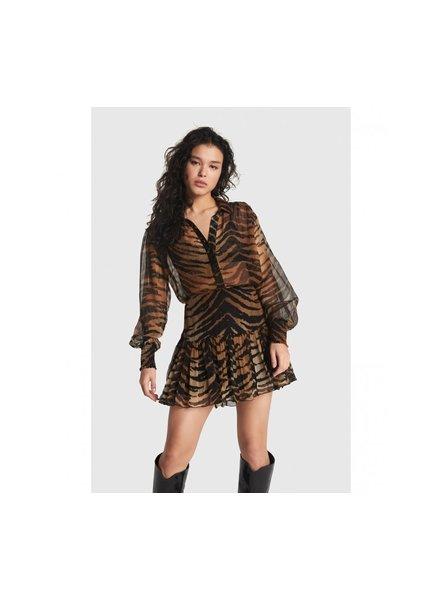 ALIX The Label Alix tiger skirt 2106213034