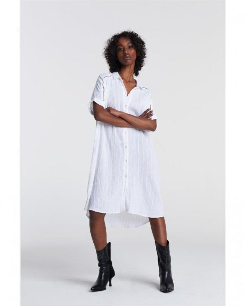 ALIX The Label Alix lurex stripe tunic dress 2106309006