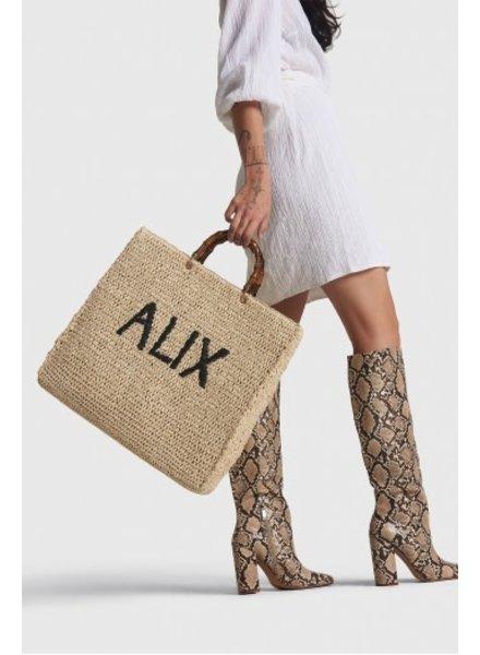ALIX The Label Alix Alix paper crochet shopper