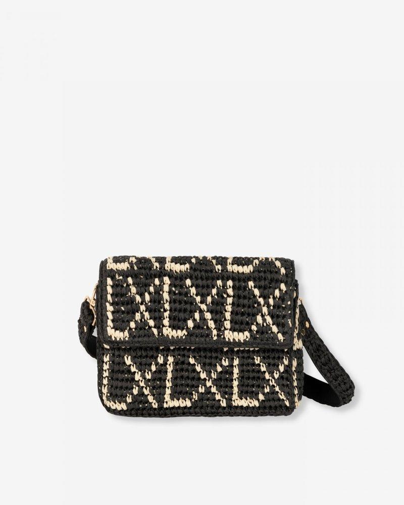 ALIX The Label Alix paper crochet small LX bag