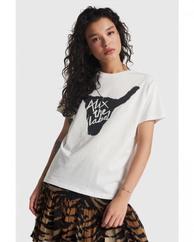 ALIX The Label Alix Alix bull t-shirt 2107862054