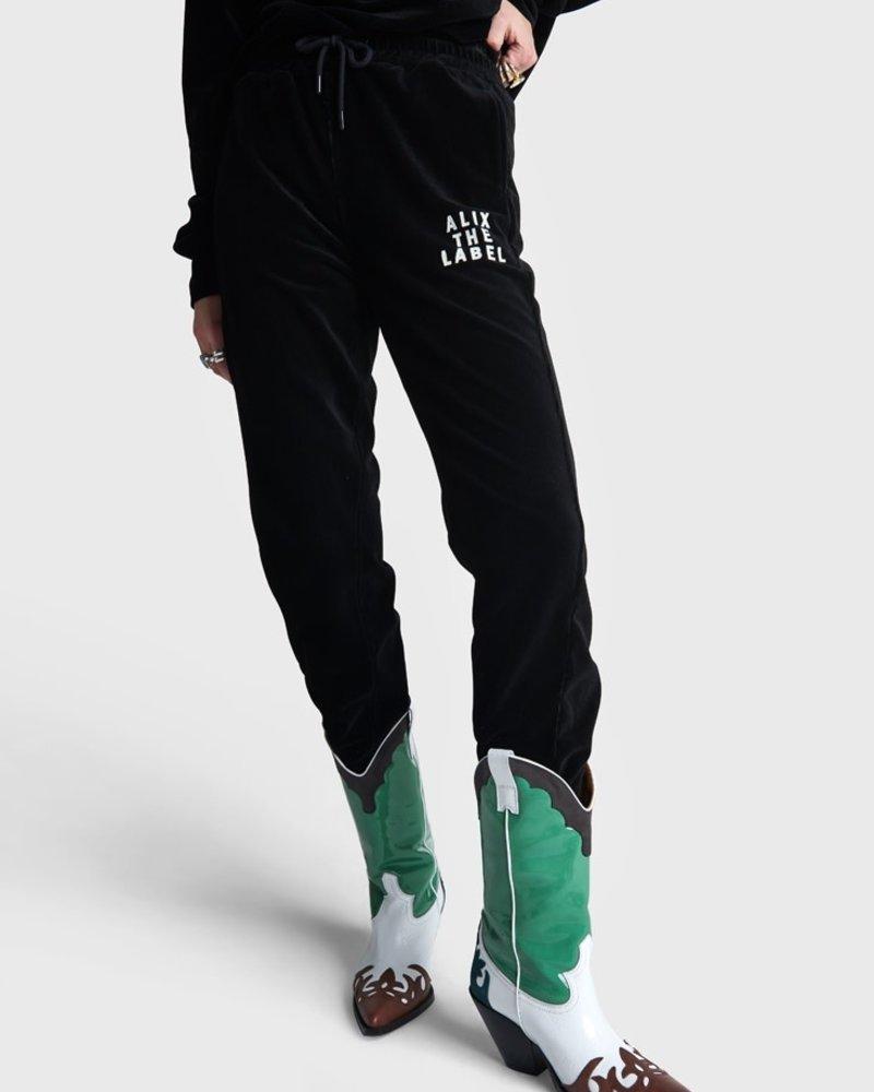 ALIX The Label Alix riv velvet pants 2108147114