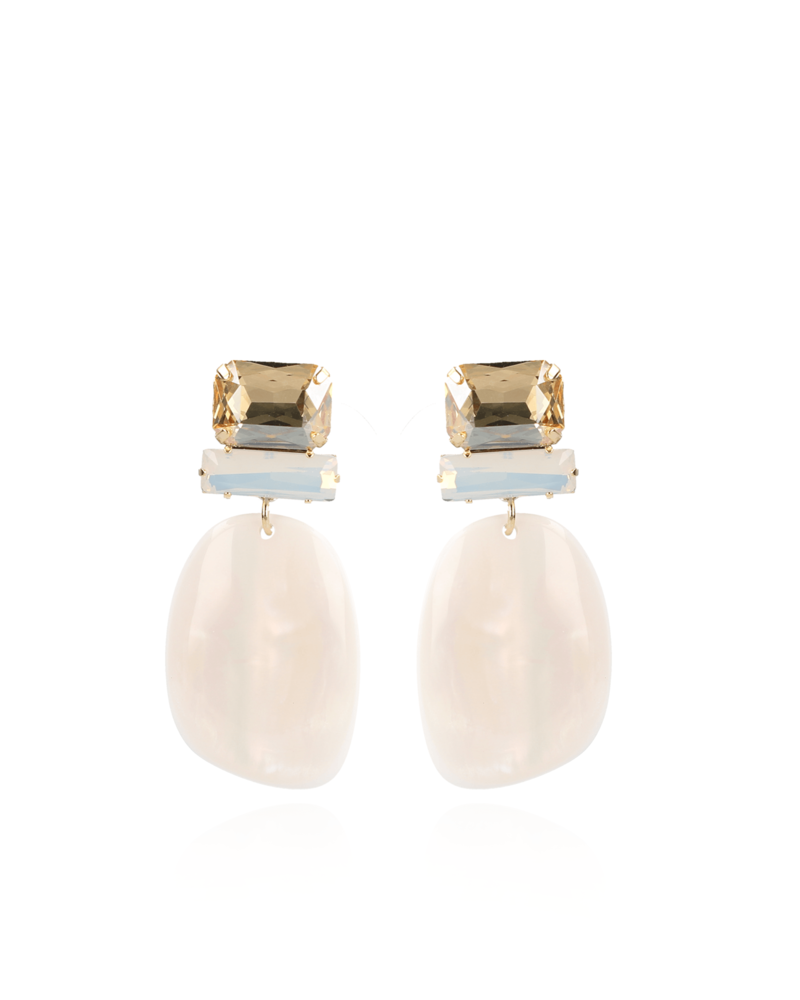 LOTT. GIOIELLI Lott asymmetric Oval Nude pearl