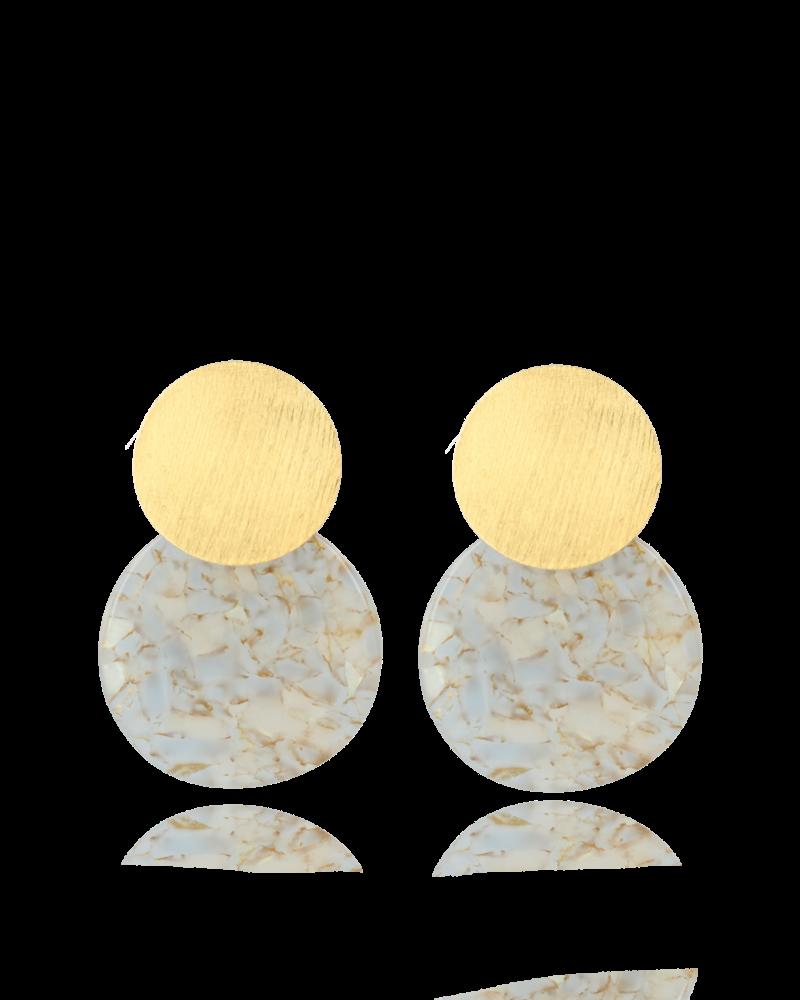 LOTT. GIOIELLI Lott Curved Round Tarrazo Pearl