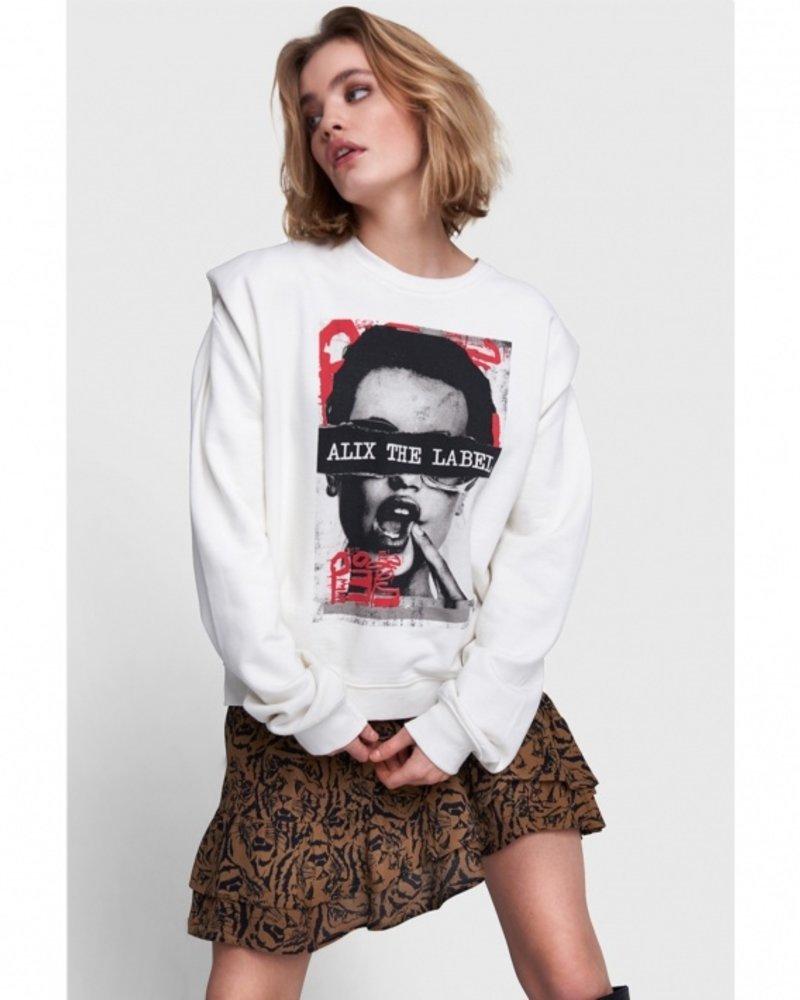 ALIX The Label Alix Trui organic photo oversized sweater 2108871122