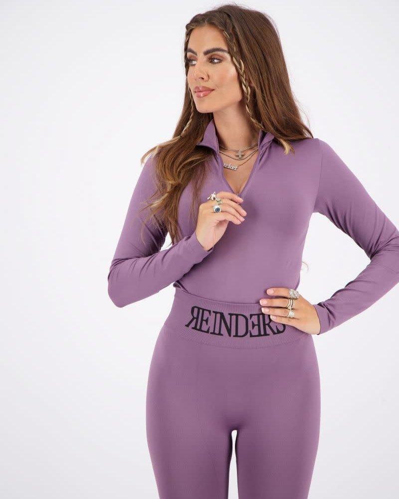 REINDERS Reinders body turtleneck zipper Long sleeves W2445