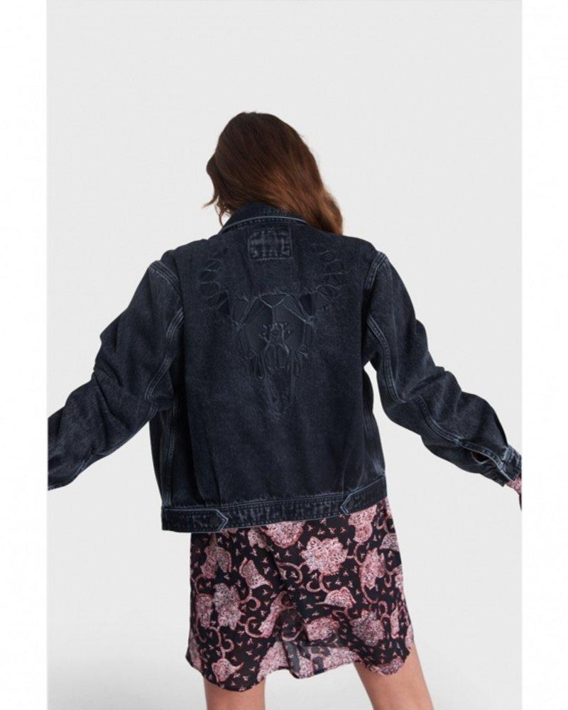 ALIX The Label Alix woven denim jacket 2108433074