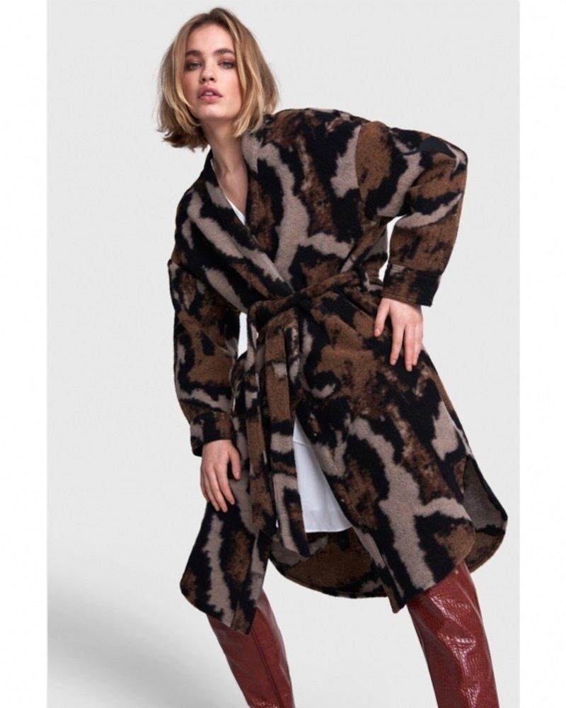 ALIX The Label Alix Animal felted wool jacket 2108436076