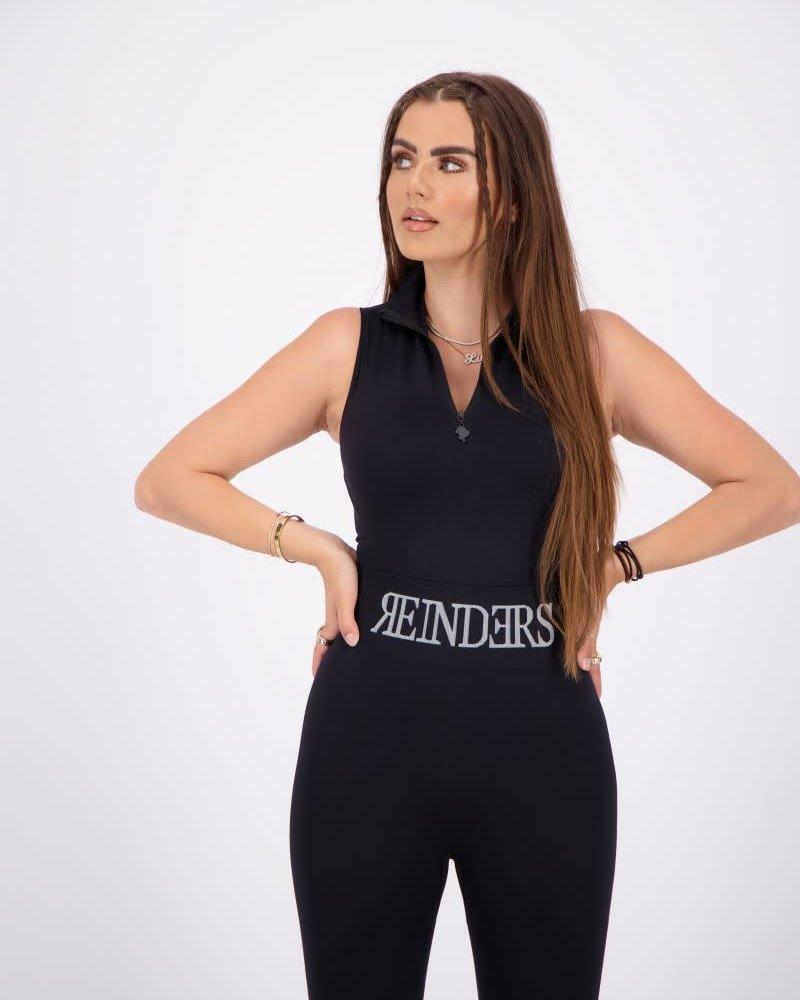 REINDERS Reinders body turtleneck zipper short sleeves W2442
