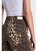 ALIX The Label Alix wide leg animal denim pants 2109167325