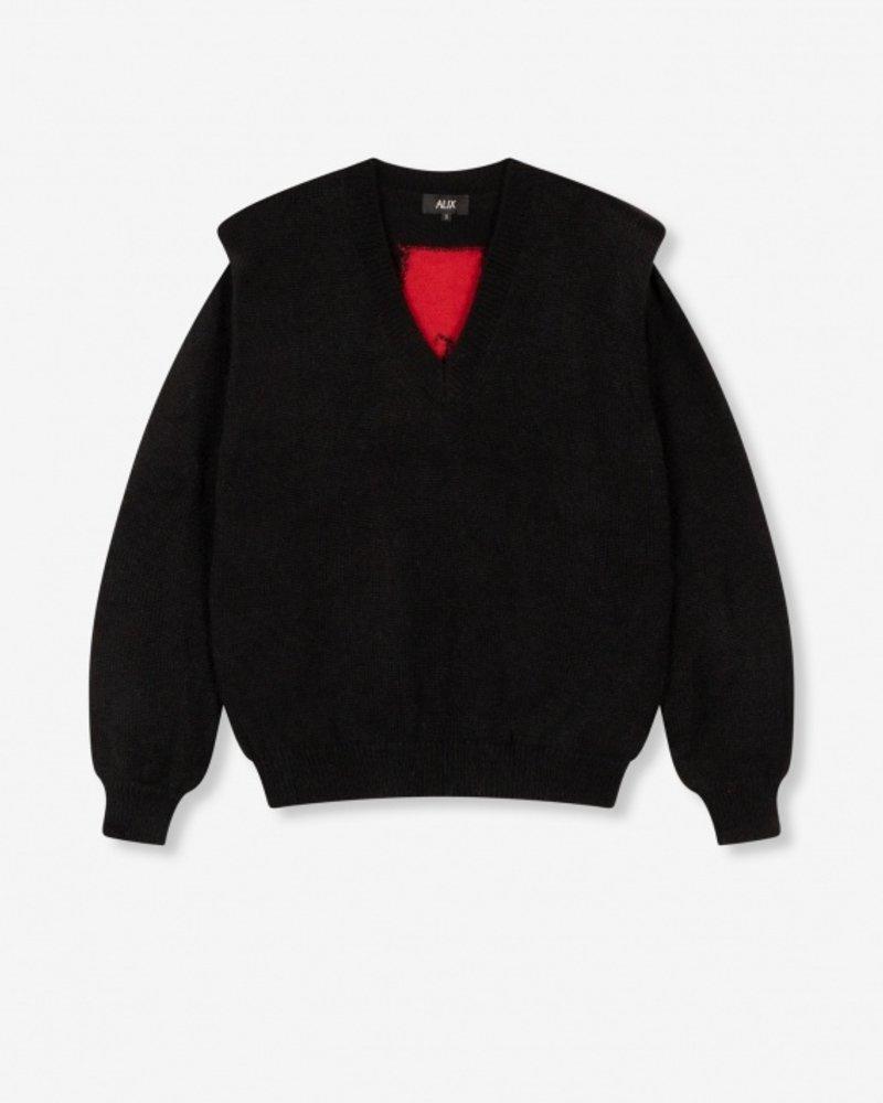 Alix knitted v-neck pullover 2108868126