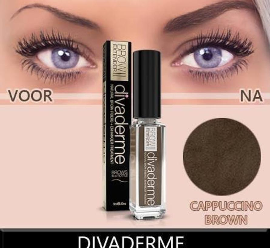 Brow extender cappuccino brown