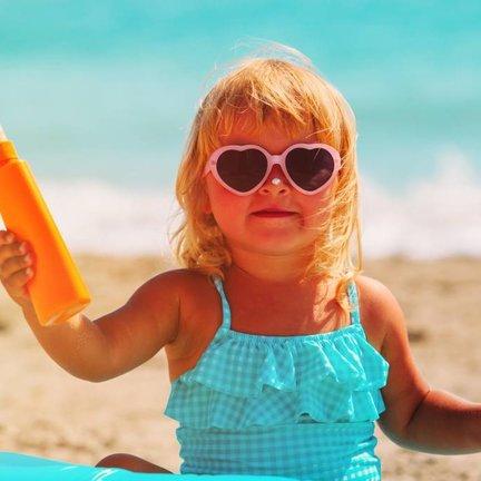 Kids en Baby  zonnebrand