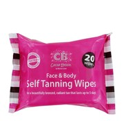 Cocoa Brown by Marissa Carter TANNING WIPES zelfbruiner