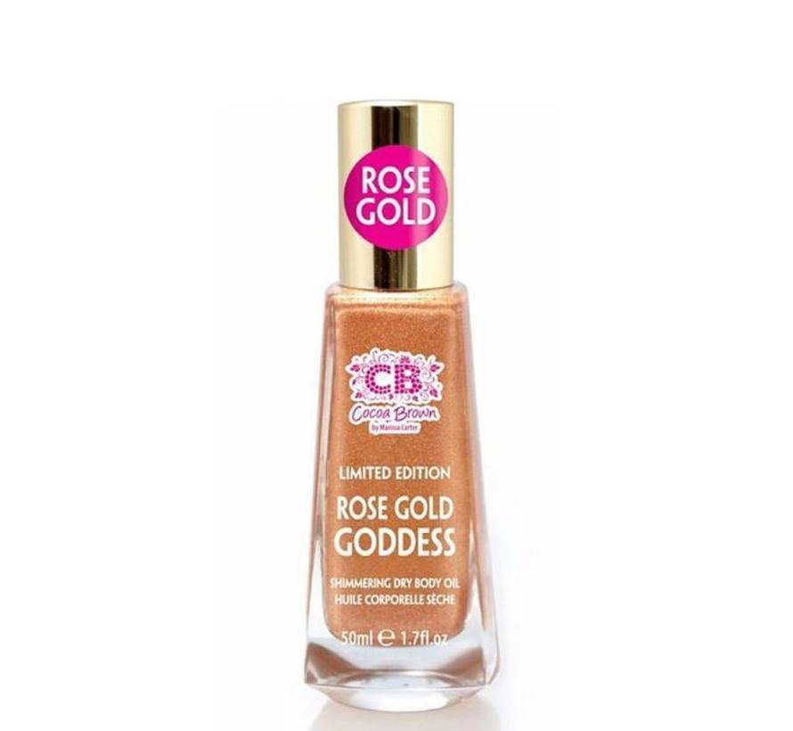 Rose Golden Goddess Face and Body Oil