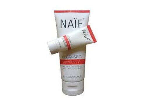Naïf Baby & kind verzorging Naïf Cleansing Shower Gel Miniatuur