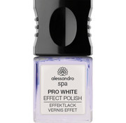 Alessandro Spa Nail Pro White Effect polish