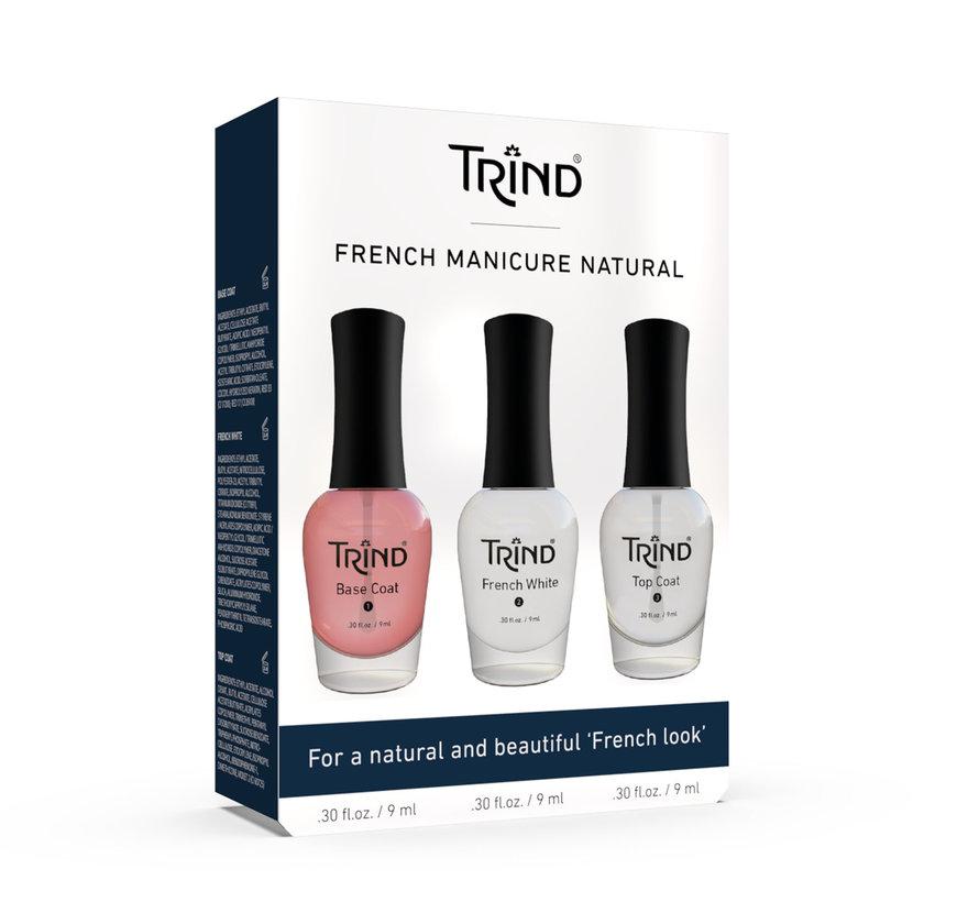 French Manicure Naturel set