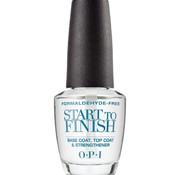 OPI Start to Finish basecoat, topcoat, nagelverharder, 15ml