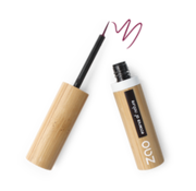 Zao essence of nature make-up  Bamboe Penseel-eyeliner 074 (Plum)