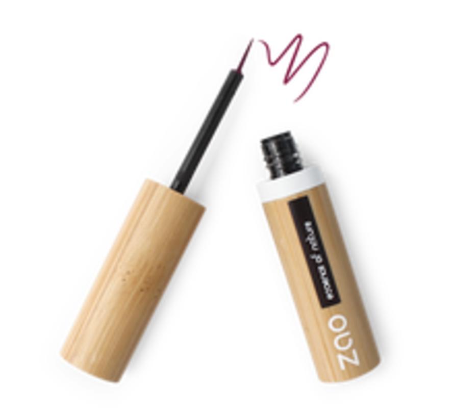 Bamboe Penseel-eyeliner 074 (Plum)