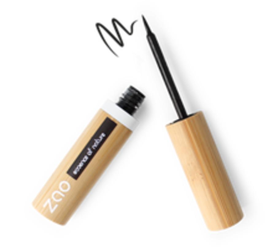 Bamboe Eyeliner met vilten tip 066 (Black Intense)