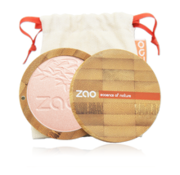 Zao essence of nature make-up  Bamboe Shine-up Powder 310 (Pink Champagne)
