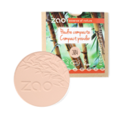 Zao essence of nature make-up  Refill Compact poeder 304 (Capuccino)